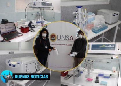 Arequipa: Laboratorio de la UNSA inició procesamiento de pruebas moleculares