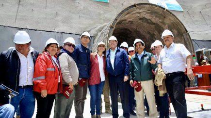 """Arequipa: todas las """"primeras piedras"""" de la inacabable Majes Siguas II"""