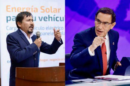 """Cáceres Llica a Martín Vizcarra: """"no meta sus narices en Arequipa"""""""