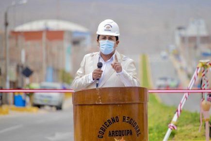 Arequipa: Elmer Cáceres Llica descartó candidatura a la Presidencia de la República