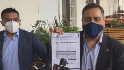 Yamel Romero inicia cruzada para revocar al gobernador de Arequipa