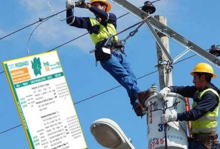 Arequipa: corte de servicio eléctrico en dos distritos, este martes 20