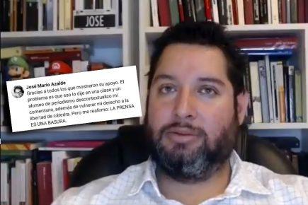 Mario Azalde León: de candidato aprista a profesor cuestionado (VIDEO)