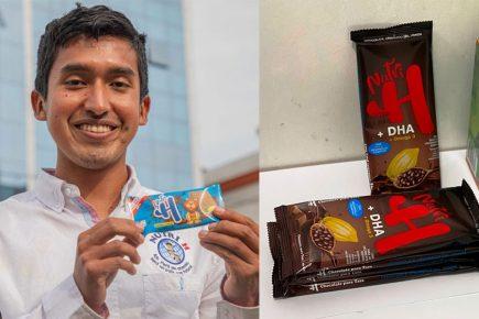 Creador de galletas contra la anemia innova con producto en base a algas marinas