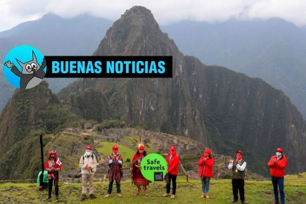 Machu Picchu recibe sello internacional como primer destino turístico seguro (Video)