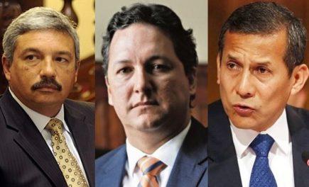 Humala, Salaverry y Beingolea precandidatos presidenciales al 2021
