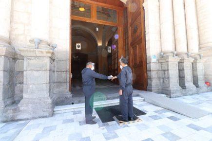Catedral de Arequipa reabre sus puertas después de más de 7 meses