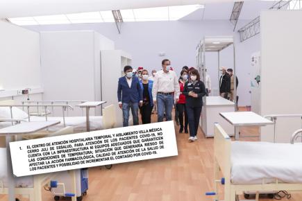 Contraloría descarta uso de Cerro Juli como hospital temporal covid