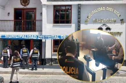 Arequipa: intervienen a municipio de Characato por denuncias de corrupción
