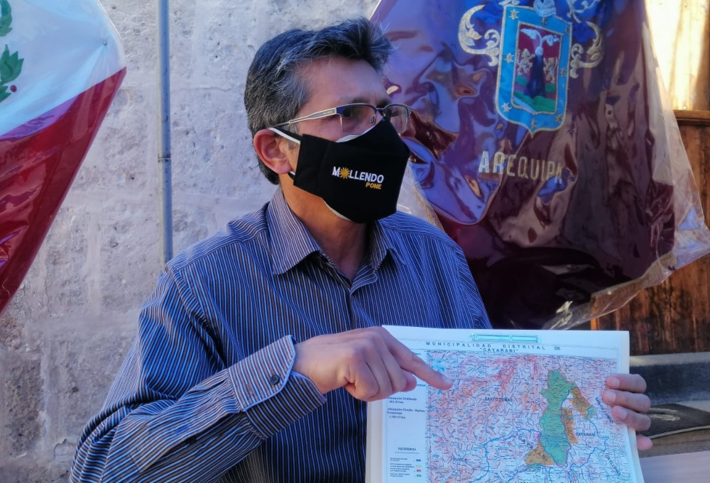 Arequipa: autoridades irán a la PCM para pedir que se respete límites con Cusco