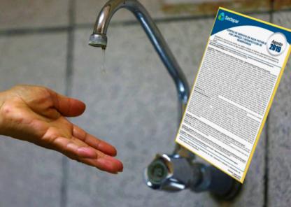 Arequipa: corte de servicio de agua en 13 distritos por 24 horas, martes 27
