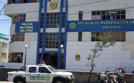 Arequipa: detienen a seis policías e intervienen oficinas del Depincri
