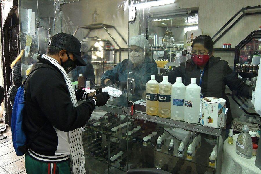 Dióxido de cloro Bolivia