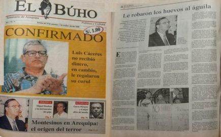 #Hace20Años Vladimiro Montesinos en Arequipa: El origen del terror
