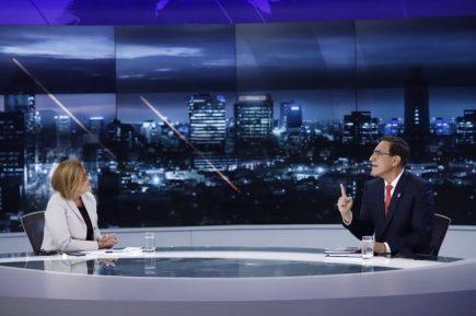Las respuestas de Martín Vizcarra en su primera entrevista desde el inicio de la pandemia (Video)
