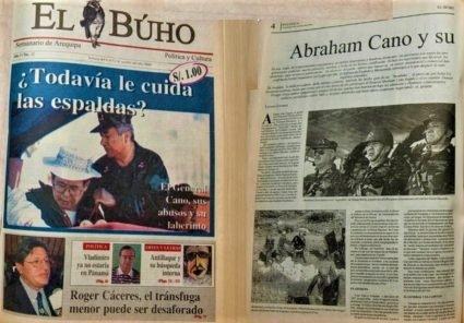 #Hace20Años ¿Todavía le cuida las espaldas? El general Abraham Cano, sus abusos y su laberinto