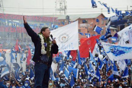 Bolivia: Luis Arce del MAS ganó las elecciones presidenciales