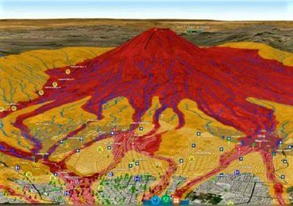 Arequipa: reconocen a nivel internacional mapa de peligros del Misti en 3D