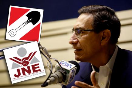 Martín Vizcarra acusado de romper neutralidad en elecciones por declaraciones