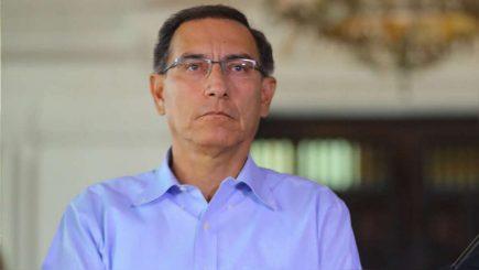 Debatirán admisión de pedido de vacancia contra Vizcarra este lunes