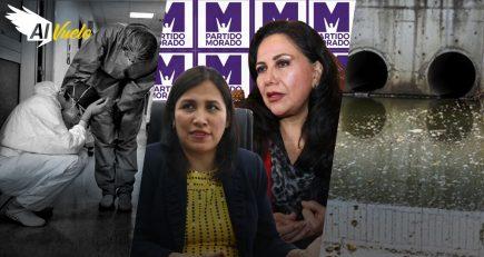 Elecciones 2021: Gloria Montenegro y Flor Pablo se suman al partido Morado | Noticias Al Vuelo