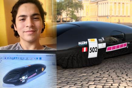 Primer vehículo eléctrico de Perú fue diseñado por universitarios