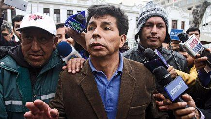 Elecciones 2021: Perú Libre lanza como precandidato presidencial a Pedro Castillo