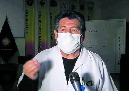 """Jefe del Comando Covid: """"Estamos observando un incremento de casos en Arequipa"""""""