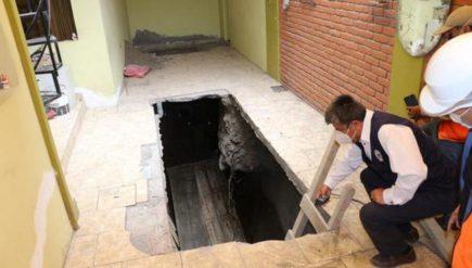 Casas de torrentera Chullo de Yanahuara en peligro de derrumbe