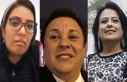 Detienen a Richard 'Swing', Karem Roca, y Miriam Morales, por contratos irregulares