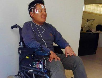 UNSA desarrolla silla de ruedas controlada por movimiento ocular