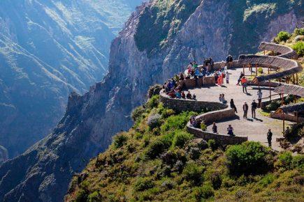 Valle del Colca: flujo de turistas superó los mil visitantes el fin de semana