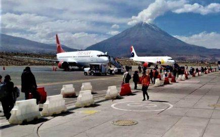 Arequipa: el 19 de octubre habilitan vuelos internacionales en aeropuerto