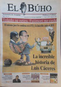 #Hace20Años: La increíble historia de Luis Cáceres