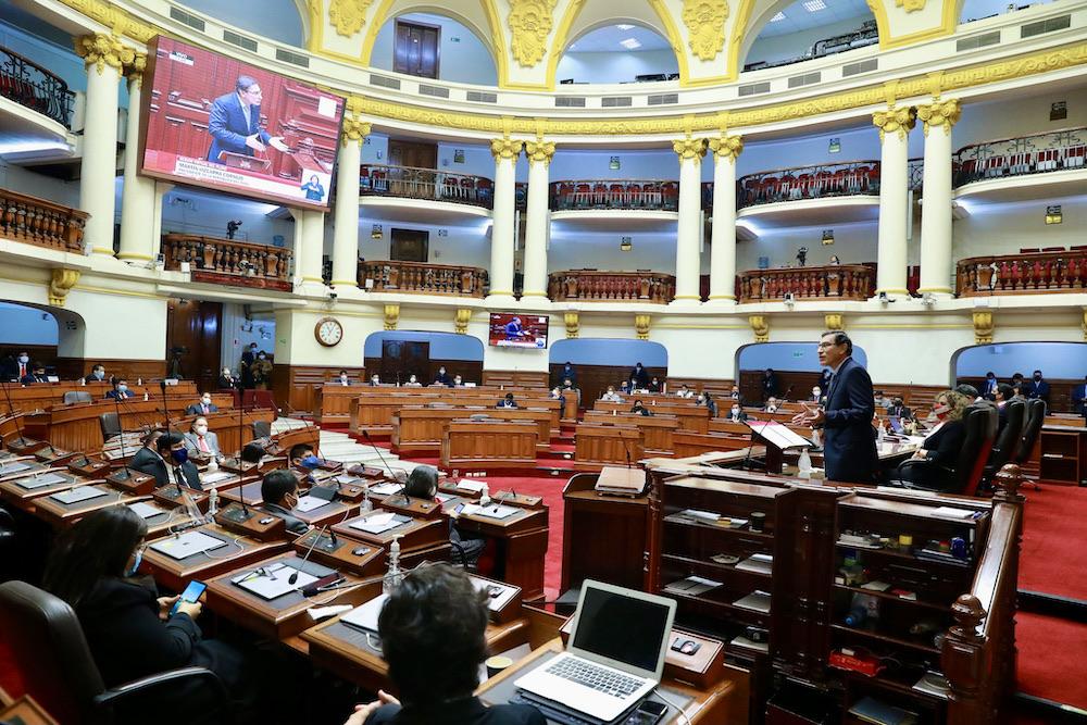 nuevo presidente congreso de la república manuel merino de lama renuncia martín vizcarra