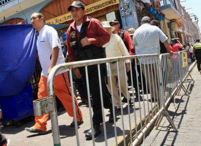 Arequipa: por Navidad colocarán vallas en calles del Centro Histórico