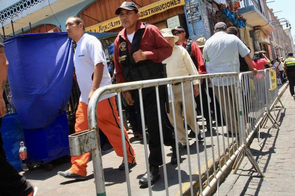 arequipa vallas metálicas comercio ambulatorio municipalidad de arequipa