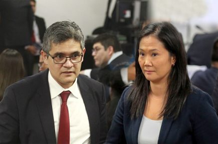 Juez decidirá si suspende a Fuerza Popular, tras pedido de José Domingo Pérez