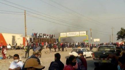 Protesta en Ica: trabajadores denuncian explotación laboral en agroexportadoras