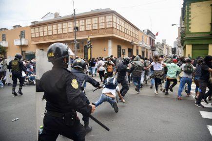 Vocero de PNP minimiza abuso policial durante protestas ciudadanas (video)