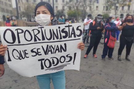 Arequipa: convocan a protestas contra la asunción de mando de Merino