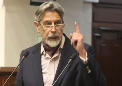 Francisco Sagasti juramenta como presidente del Perú