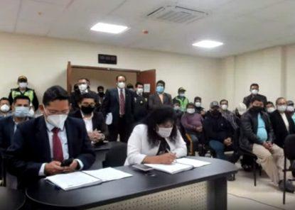 Los elegantes de la Municipalidad de Arequipa: PJ evalúa prisión preventiva de 22