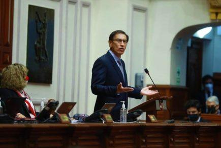Martín Vizcarra ante vacancia: «68 congresistas tienen procesos en investigación»