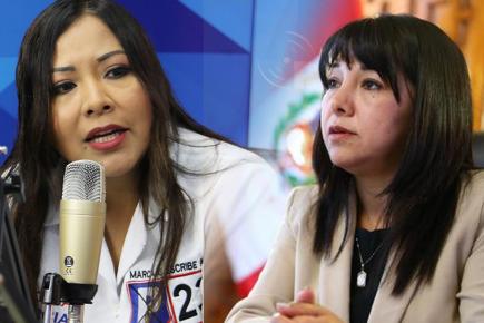 ONP: Presidenta del Congreso denuncia presiones y amenazas  de muerte
