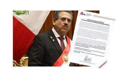 Alcaldes exigieron renuncia inmediata de Merino días antes de su dimisión