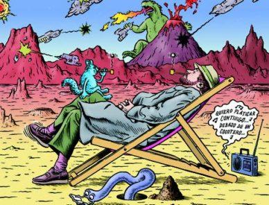 Los creadores de cómics debemos narrar un mundo mejor