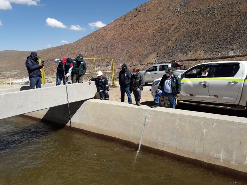 Dotación de agua para Arequipa