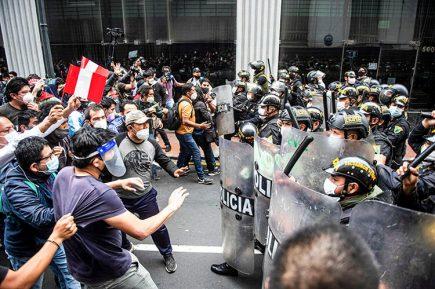Comisión de Justicia del Congreso investiga acciones de Policía en marchas