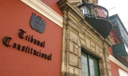 Tribunal Constitucional debate demanda competencial interpuesta por el Ejecutivo